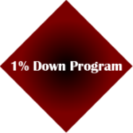1% Down Payment Mortgage Program
