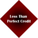 Less than perfect Credit